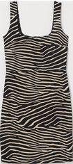 Платье H&M 8033780 S Белое с черным (hm09279365429) от Rozetka