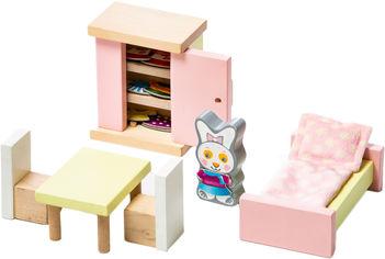 Деревянная развивающая игра Cubika Детский набор Мебель 2 Спальня 16 деталей (4823056512640) от Rozetka