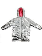 Куртка-парка Danaya ШЯ19-157 134 см Серебреная (2000014441910) от Rozetka