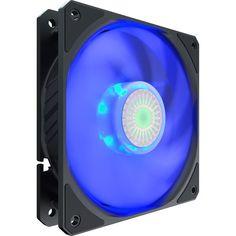 Акция на Корпусний вентилятор Cooler Master SickleFlow 120 Blue LED, 120мм, 650-1800об/хв, Single pack w/o HUB (MFX-B2DN-18NPB-R1 от MOYO