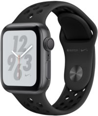 Apple Watch Series 4 Nike+ 40mm Gps Space Gray Aluminum Case with Anthracite/Black Nike Sport Band (MU6J2) от Y.UA