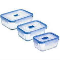 Набор контейнеров LUMINARC PURE BOX ACTIVE 3 пр. + сумка (P4129) от Foxtrot
