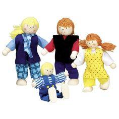 Набор кукол goki Молодая семья (51955G) от MOYO