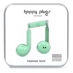 Happy Plugs Earbud Plus Mint от SportsTerritory