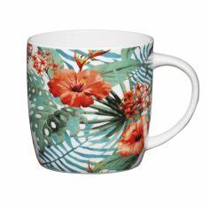 Чашка для чая фарфоровая Kitchen Craft Jungle 425 мл KCMBAR131 от Podushka