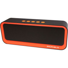 Портативная акустика GRUNHELM GGT-308 Black/Orange от Foxtrot