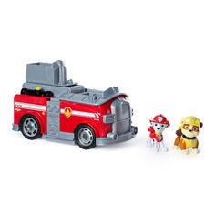Акция на Игровой набор Paw Patrol Суперкоманда Маршал и Крепыш 2 в 1 (SM16789/8060) от Будинок іграшок
