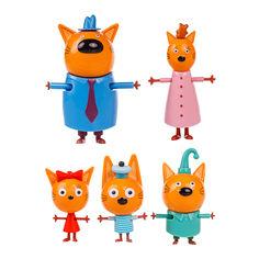 Игровой набор Три кота Пять фигурок (T17172) от Будинок іграшок