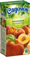 Акция на Упаковка сока Садочок Персиковый с мякотью 0.5 л х 24 шт (4823063105446) от Rozetka
