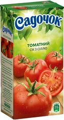 Акция на Упаковка сока Садочок Томатный с солью 0.5 л х 24 шт (4820001449617) от Rozetka