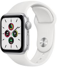 Смарт-часы Apple Watch SE GPS 40mm Silver Aluminium Case with White Sport Band (MYDM2UL/A) от Rozetka