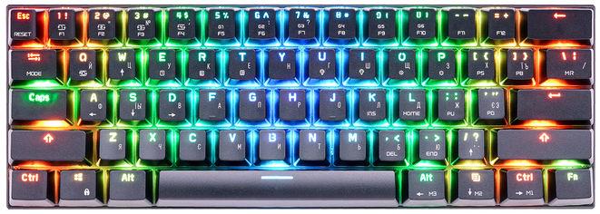 Клавиатура беспроводная, проводная Motospeed СK62, RGB, BT, USB Black ENG, UKR, RUS Outemu Red (mtck62bmr) от Rozetka