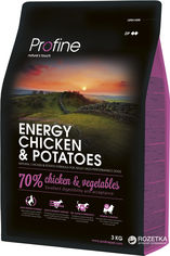 Сухой корм для взрослых собак с повышенной активностью Profine Adult Energy Chicken с курицей и картофелем 3 кг (8595602517480) от Rozetka