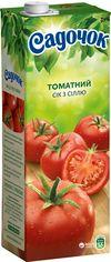Акция на Упаковка сока Садочок Томатный с солью 1.45 л х 8 шт (4823063107464) от Rozetka