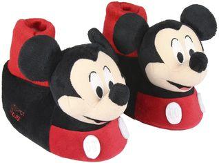 Акция на Комнатные тапочки Disney Mickey 2300003336 27-28 Черные от Rozetka
