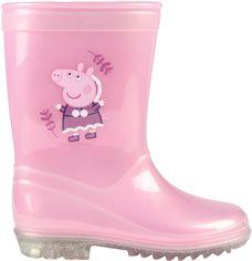 Резиновые сапоги Disney Peppa Pig 2300004636 27 Розовые от Rozetka