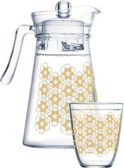 Набор для напитков Luminarc Neo Golden Flower Maze 7 предметов (Q0569) от Rozetka