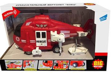 Игрушка Big Motors Спасательный вертолет (WY760B) (4812501163278) от Rozetka