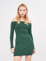 Платье Pull & Bear 5390/321/501 M Зеленое (05390321501030) от Rozetka