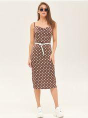 Платье Mila Nova ф-119 44 Шоколадное в горох (mila2000000050607) от Rozetka