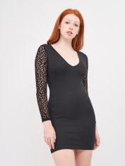 Платье Pull & Bear 5390/308/800 S Черное (05390308800026) от Rozetka