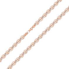 Браслет в красном и белом золоте, 7мм 000122783 21 размера от Zlato