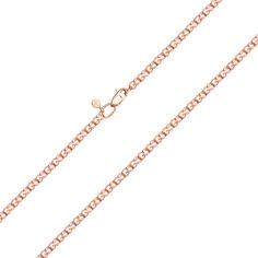 Золотой браслет Мартиника в красном цвете в плетении бисмарк 18.5 размера от Zlato
