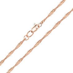 Цепочка из красного золота 000141628 45 размера от Zlato