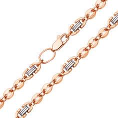 Золотая цепь в комбинированном цвете 000104257 60 размера от Zlato