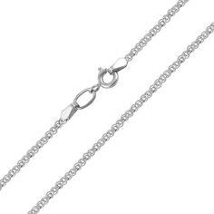 Цепочка из белого золота 000126119 45 размера от Zlato