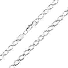 Серебряный браслет 000122241 18.5 размера от Zlato