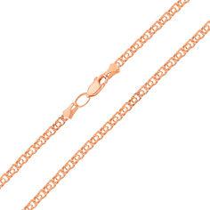 Золотая цепочка Ямайка в красном цвете в плетении бисмарк 000127229 60 размера от Zlato