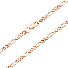 Цепочка из красного золота в плетении фигаро 000134513 000134513 60 размера от Zlato