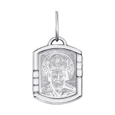 Серебряная ладанка Святой Николай Чудотворец 000135375 от Zlato