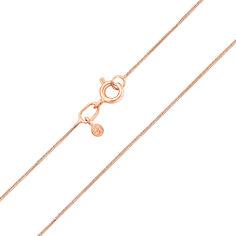 Цепочка из красного золота в плетении снейк 000135567 60 размера от Zlato