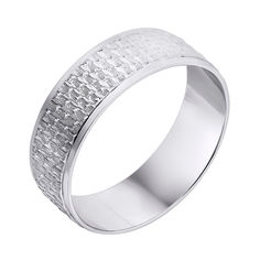 Серебряное обручальное кольцо 000140550 18 размера от Zlato