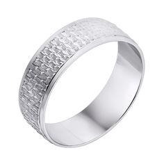 Серебряное обручальное кольцо 000140550 19 размера от Zlato