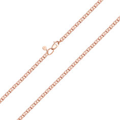 Золотой браслет Мартиника в красном цвете в плетении бисмарк 17 размера от Zlato
