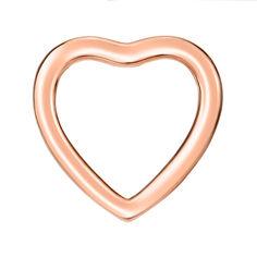 Подвеска-сердце из красного золота 000142317 от Zlato