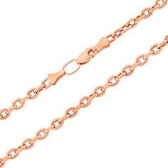 Цепочка из красного золота в якорном плетении 000133566 60 размера от Zlato