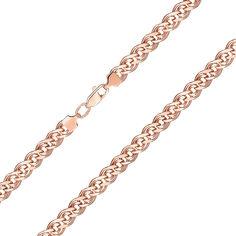 Цепь из красного золота в плетении Нонна 000141627 55 размера от Zlato