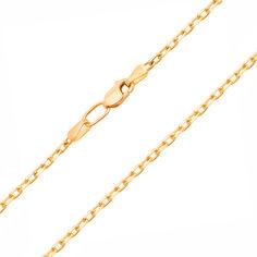 Цепочка из желтого золота в якорном плетении с алмазной гранью 000131585 55 размера от Zlato