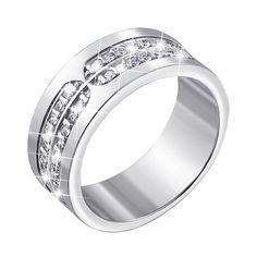 Серебряное кольцо с фианитами 000140455 16.5 размера от Zlato