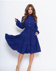 Платья ISSA PLUS 11043  S синий от Issaplus