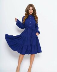 Платья ISSA PLUS 11043  M синий от Issaplus