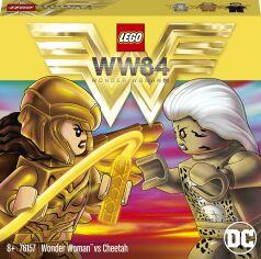 Конструктор LEGO DC super heroes Чудо-Женщина против Гепарда (76157) от Будинок іграшок