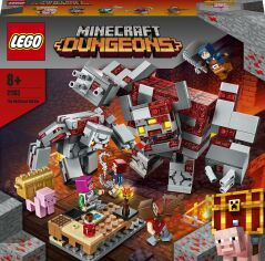 Конструктор LEGO Minecraft Бой за краснонокамень (21163) от Будинок іграшок