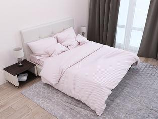 Акция на Комплект постельного белья SoundSleep Stripe Flour Сатин-страйп 200х220 (93165846) от Rozetka