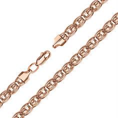 Акция на Браслет из красного золота в плетении Нонна 000133672 19 размера от Zlato