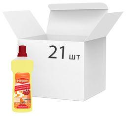 Упаковка средства универсального антимикробного Helper 21 шт х 750 мл (4820183971166) от Rozetka